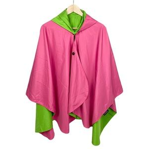 RainCaper Travel Cape Reversible Women's Raincoat